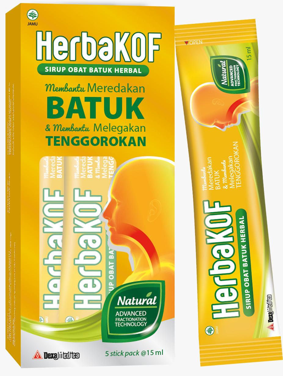 Sirup Obat Batuk Herbal Herba Kof